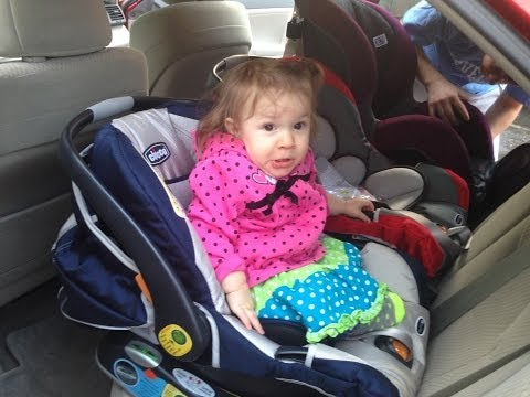 3 Rear-Facing Car Seats in Camry