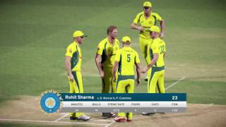 PS4 Don Bradman Cricket 17 FIVE5 Australia v India Gameplay