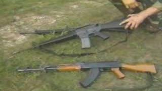 Assault Rifles  G3 M16 AK47