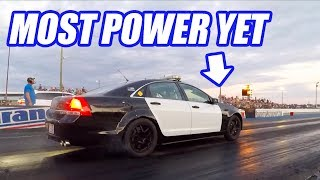 Testing Uncle Sams NEW Engine On The Dyno AND The Track! (Cleetus And Cars)
