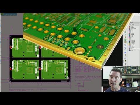 EEVblog #1193 - KiCAD PCB 4 Layer Swapping & Stackup