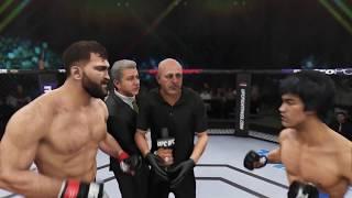 Andrei Arlovski vs. Bruce Lee (EA sports UFC 3) - CPU vs. CPU