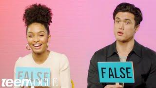 Yara Shahidi and Charles Melton Play 'Fact or Fiction' | Teen Vogue