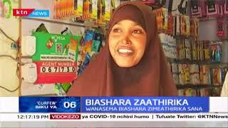 Wanabiashara kutoka  Garissa walalamikia hali duni ya uchumi