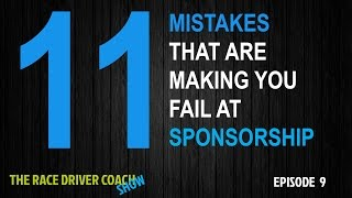11 Mistakes That Are Making You Fail At Sponsorship