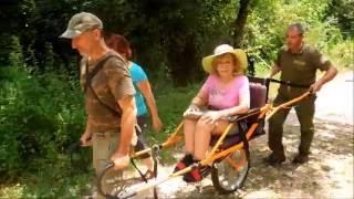 Parco dei Monti Lucretili e Joëlette – video