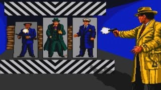 Dick Tracy Game Review (1990) (HD Gameplay) (Sega Genesis)