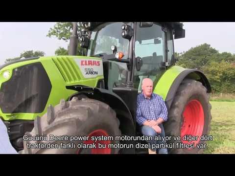 Beş popüler traktör modelinin incelemesi (Türkçe altyazılı)