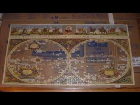 Ravensburger Puzzle Blaeuw: Weltkarte 3000 Teile