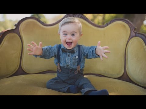 Watch video Toddler with Down Syndrome Overlooked for Modeling Gig