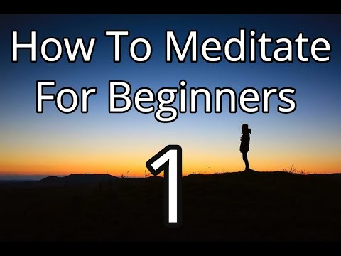 Introduction to Mindfulness Meditation for Beginners Day 1 | Free Online Meditation Course