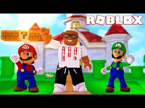 Super Mario World Dance Party In Roblox Roblox Super Mario - kaelin on games roblox