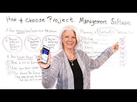 How to Choose Project Management Software - Project ... - YouTube