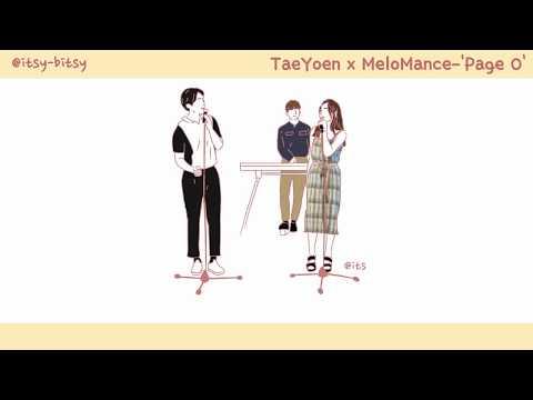 [中字/手繪] TaeYeon (태연) X MeloMance(멜로망스) - 'Page 0' (lyrics video)