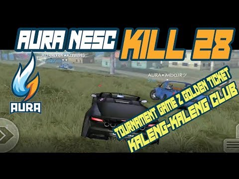 TOTAL KILL 28 AURA NESC DI TOURNAMENT GAME Z GOLDEN TICKET - GARENA FREE FIRE