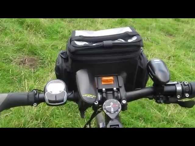 Видео Сумка Topeak TourGuide Handlebar Bag 5 л черная