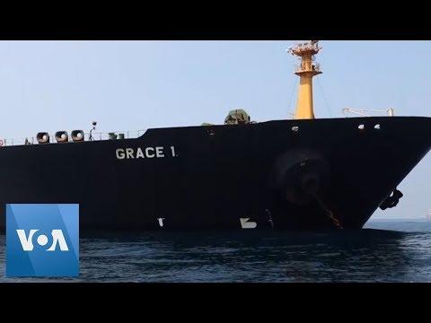Gibraltar Releases Iran Tanker, Grace 1, Despite U.S. Appeal