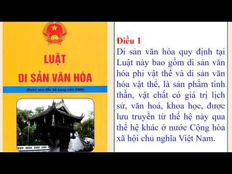 GIÁO DỤC CÔNG DÂN 7 - BÀI 15: DI SẢN VĂN HÓA (TIẾT 1)