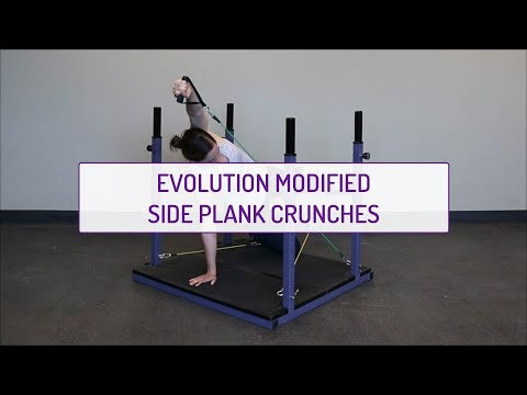 Evolution Modified Side Plank Crunches