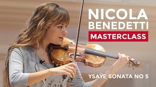 Nicola Benedetti Violin Masterclass at the RCM: Emily Sun