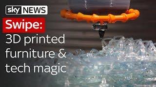Swipe | 3D-printed furniture & tech magic