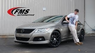 "Коди Кристиан, Cody Christian ""Pretty Little Liars"" Upgrades His Volkswagen CC - FMS Automotive Edition"