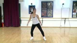 Coreografia Zumba Flash Mob training Cervia(RA) 29/6/2013 Ballo di Gruppo Fitness Bagno Franco 70