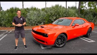 Is The 2020 Dodge Challenger Scat Pack Widebody The BEST Daily Driver Muscle Car?
