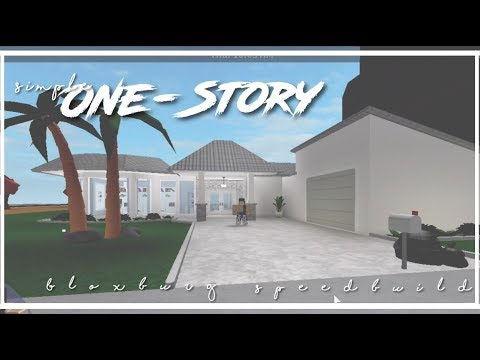 Roblox Bloxburg Simple One Story House Apphackzone Com