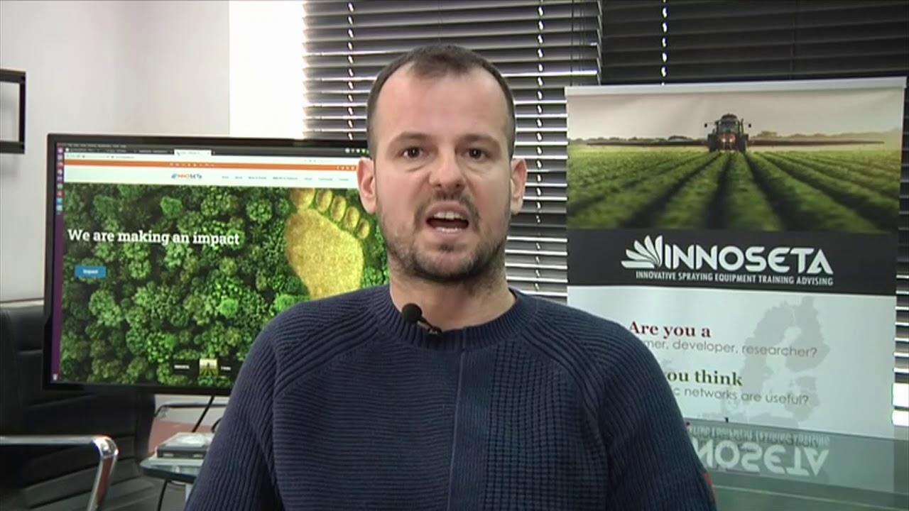 Ένα «google» για ψεκασμούς ακριβείας σε καλλιέργειες | 01/03/2021 | ΕΡΤ