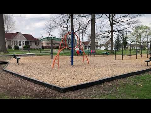 Video: Borden Park in Kingsport, afternoon of March 27, 2020