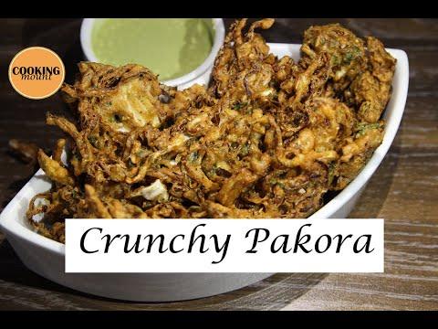 CRUNCHY PAKORA | GOBHI PAKORA RECIPE BY COOKING MOUNT