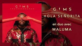 GIMS, Maluma   Hola Señorita (LyricsLetra) 🔥