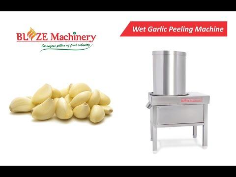 Wet Garlic Peeler