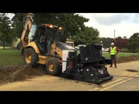 RoadHog RH4075 Utility Line Lateral Install