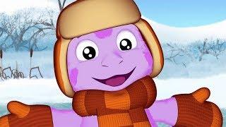Лунтик | Зимние серии ❄ Сборник мультфильмов для детей