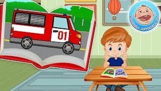 Крошка Антошка и его машинки — Пожарная машинка — Книжка Пазл