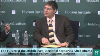 """The Future of the Middle East: Regional Scenarios"", at the Westminster Institute, Washing"