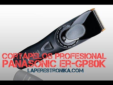 Review de la cortapelos profesional inalámbrica Panasonic ER-GP80K
