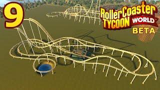 RollerCoaster Tycoon World BETA Part Building A Wooden Coaster - Minecraft rollercoaster spielen