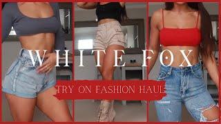 White fox Boutique Haul.