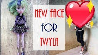 Monster High Doll Repaint / How to Customize BJD Doll Easy, OOAK Custom Barbie DIY Handmade Tutorial