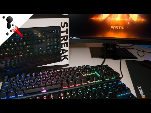 Fnatic Streak and Mini Streak Keyboard Review (with Sound Test)