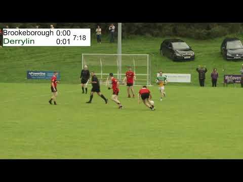 2020 Fermanagh Junior Football Championship QF - Brookeborough Heber McMahon's v Derrylin O'Connells