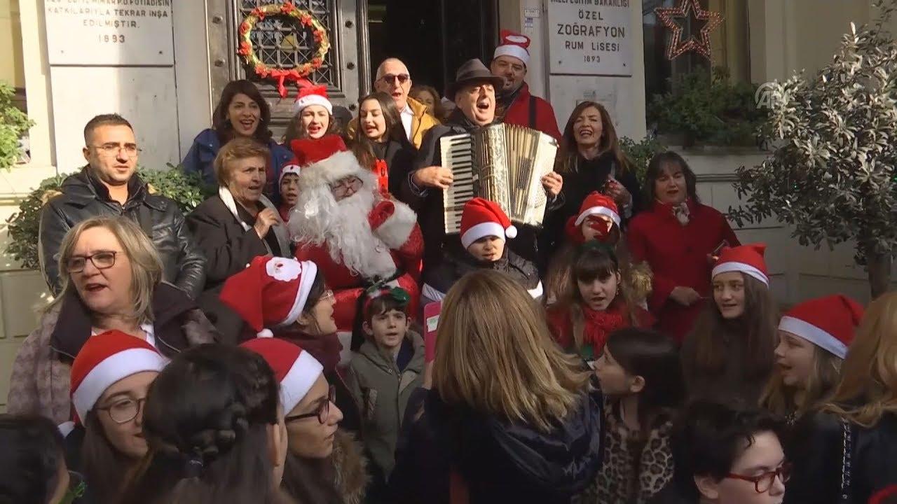 Εορτασμός των Χριστουγέννων στην Κωσταντινούπολη