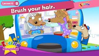 Bài 10_ (B) Đánh răng / tóc. - Cartoon Câu chuyện