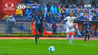 Tiro desviado de Carlos González   UNAM 0 - 0 Pachuca   Apertura 2018 - J4   Televisa Deportes
