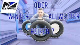 Winterreifen oder Allwetter Reifen! Welcher ist der bessere?