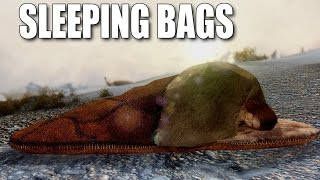 Sleeping Bags: REAL BLANKETS - Skyrim mods watch