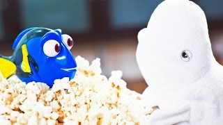Dory Plays Hide-And-Go-Seek | Finding Dory | Disney